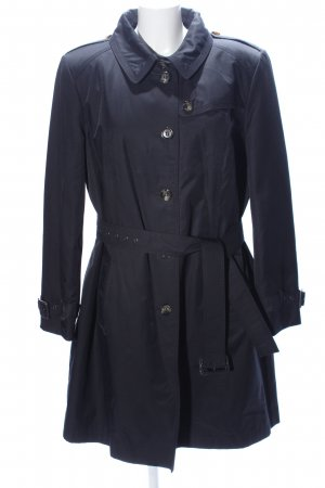 Peter Hahn Trench Coat black casual look