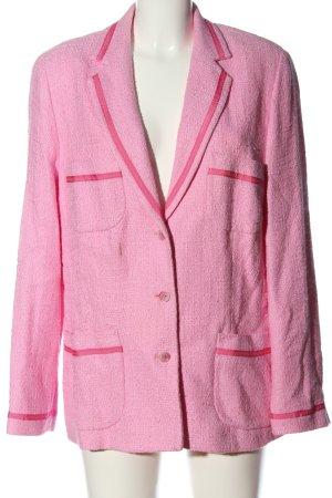 Peter Hahn Tweed blazer roze zakelijke stijl
