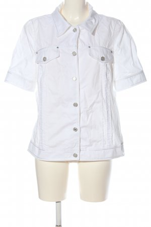 Peter Hahn Short Sleeve Shirt white casual look
