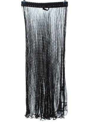 Peter Hahn Sobrefalda negro-blanco estampado repetido sobre toda la superficie