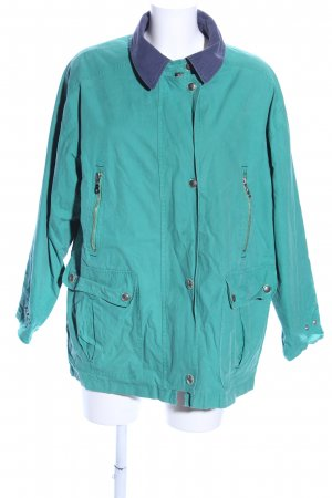 Peter Hahn Reversible Jacket turquoise-blue casual look