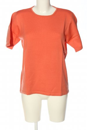 Peter Hahn T-Shirt hellorange Casual-Look
