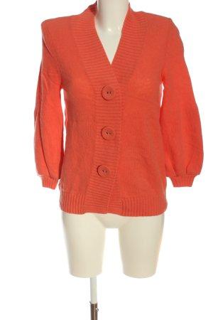 Peter Hahn Wełniany sweter jasny pomarańczowy W stylu casual