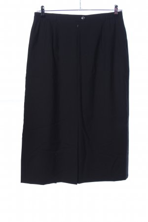 Peter Hahn Wool Skirt black casual look