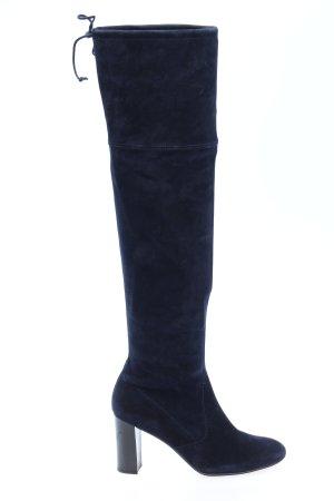 Peter Kaiser Absatz Stiefel blau Casual-Look