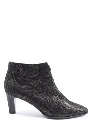 Peter Kaiser Booties black abstract pattern elegant
