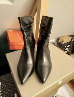 Peter Kaiser Botas de tacón alto negro