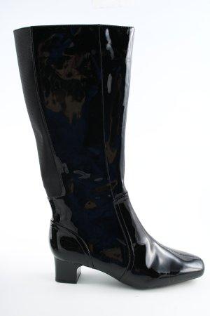 Peter Kaiser Gummistiefel schwarz extravaganter Stil