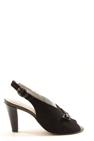 Peter Kaiser High Heel Sandaletten schwarz Casual-Look