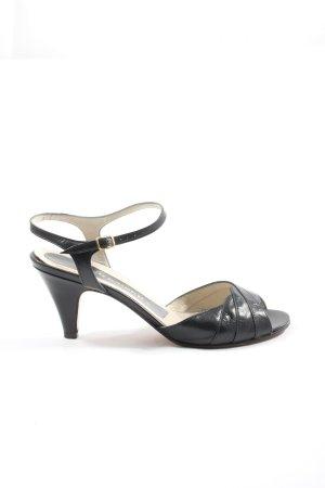 Peter Kaiser High Heel Sandaletten schwarz Elegant