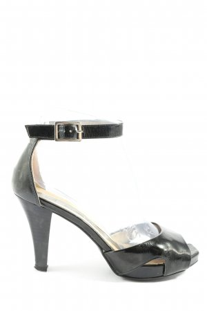 Peter Kaiser High Heel Sandaletten schwarz Business-Look