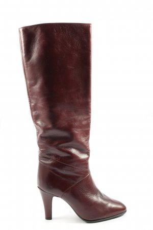 Peter Kaiser Wysokie buty na obcasie czerwony W stylu casual
