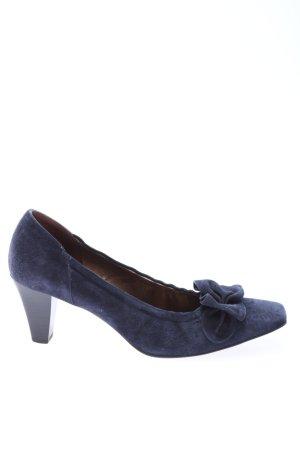 Peter Kaiser High Heels blau Business-Look