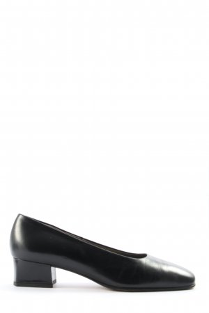 Peter Kaiser Hochfront-Pumps schwarz Casual-Look