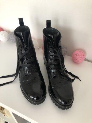 Peter Kaiser Chelsea laarzen zwart Leer