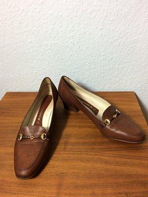 Peter Kaiser Loafers karamell Gr. 7,5 / Gr. 41