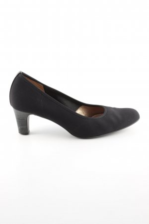 Peter Kaiser Mary Jane Pumps schwarz Business-Look