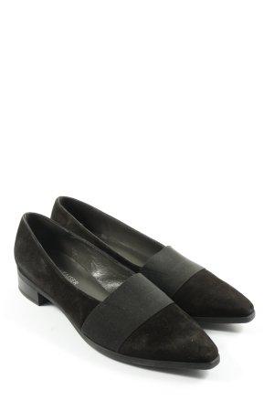 Peter Kaiser Pantoffels zwart zakelijke stijl