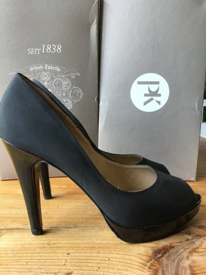 Peter Kaiser Peep Toe Pumps