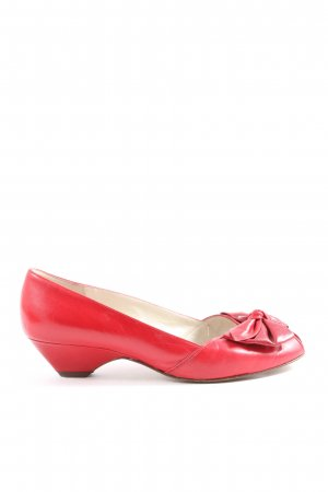 Peter Kaiser Peeptoe Pumps rot Casual-Look