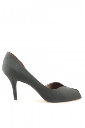 Peter Kaiser Peeptoe Pumps hellgrau Casual-Look