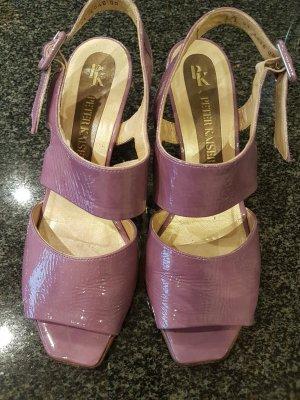 Peter Kaiser Sandalias de tacón alto púrpura