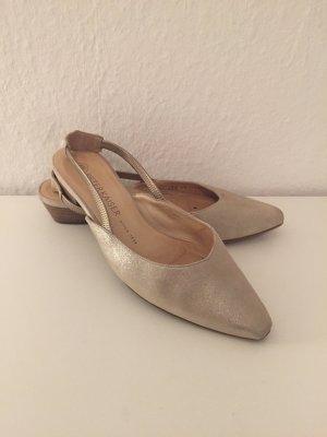 Peter Kaiser Slingback ballerina's room-licht beige