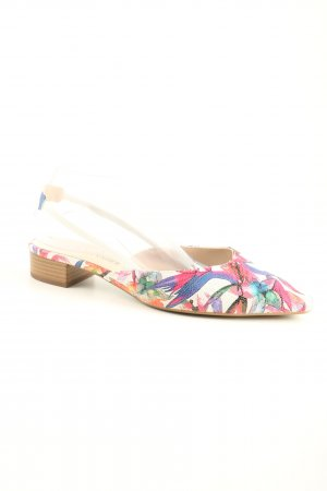 Peter Kaiser Slingback-Pumps abstraktes Muster Casual-Look
