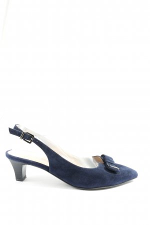 Peter Kaiser Slingback-Pumps blau Business-Look