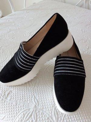 Peter Kaiser Pantofola bianco-nero