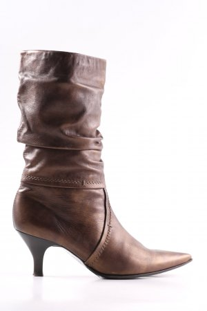 Peter Kaiser Slouch Booties brown casual look