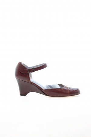 Peter Kaiser Backless Pumps brown casual look