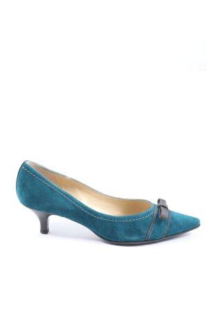Peter Kaiser Pointed Toe Pumps blue elegant