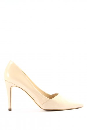 Peter Kaiser Spitz-Pumps creme Casual-Look