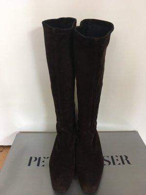 Peter Kaiser Stretch Boots dark brown