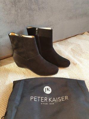 Peter Kaiser Wedge Booties black