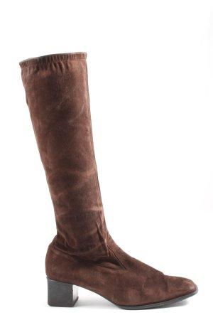 Peter Kaiser Wide Calf Boots brown casual look