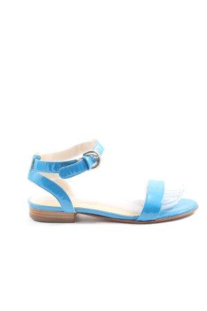 peter kraiser Sandales à talons hauts et plateforme bleu style décontracté