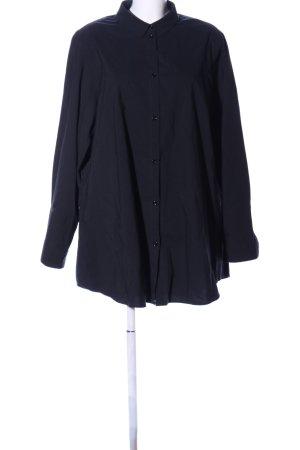 peter o. mahler Langarmhemd schwarz-rot Streifenmuster Casual-Look