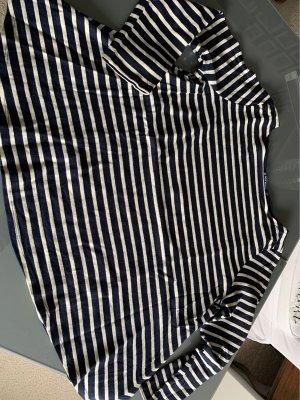 Petit bateau Stripe Shirt natural white-dark blue