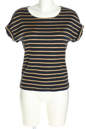 Petit bateau Stripe Shirt black-primrose allover print casual look