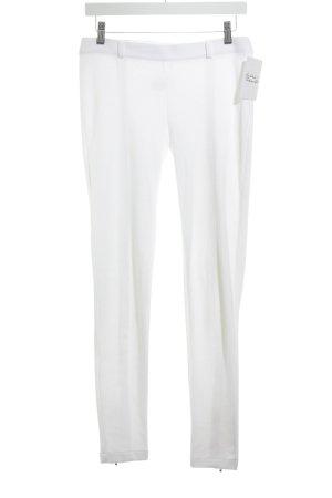 Petit bateau Pantalone jersey bianco stile semplice