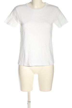 Petit bateau T-shirt bianco stile casual