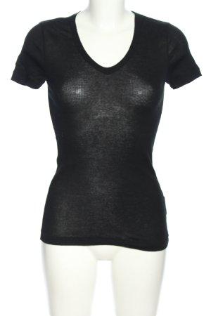 Petit bateau T-shirt nero stile casual