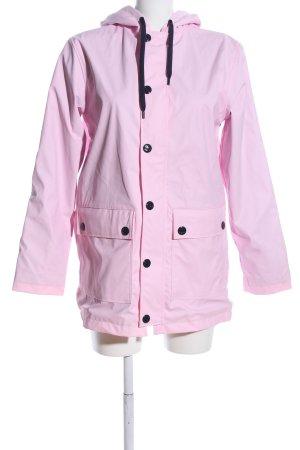 Petit bateau Waxed Jacket pink casual look