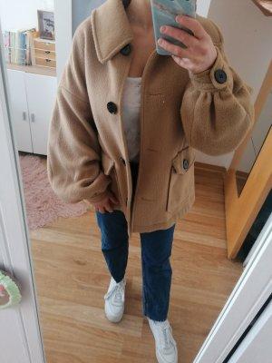 ASOS DESIGN Petite Winter Jacket beige