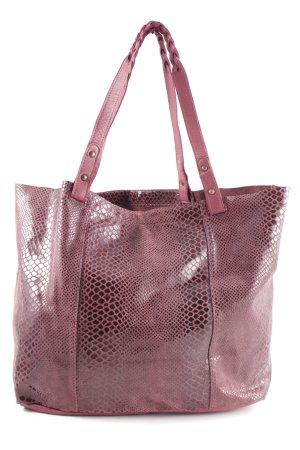 petite Mendigote Sac porté épaule rose motif animal style décontracté
