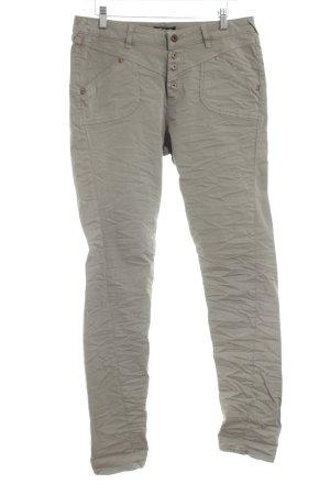 Petra R Boyfriend jeans khaki casual uitstraling