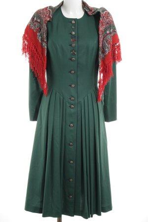 Petressa Dirndl waldgrün-dunkelblau Elegant
