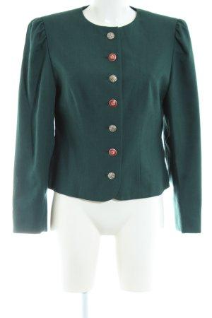 Petressa Kurz-Blazer grün Casual-Look